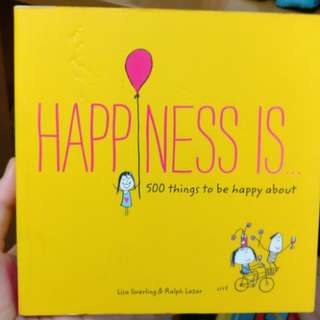 Buku Happiness is by Lisa Swerling dan Ralph Lazar
