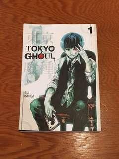 Tokyo Ghoul book 1