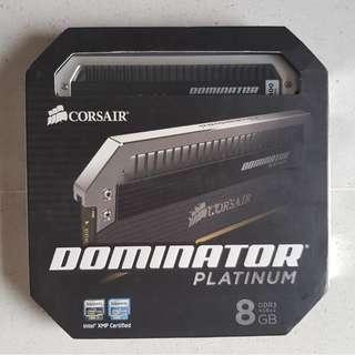 Corsair Dominator Platinum Series — 8GB (2 x 4GB) DDR3 DRAM 2400MHz C11 1.65v Memory Kit