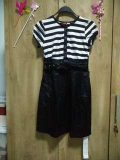 dress black n white