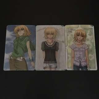 包郵*Gundam Seed Destiny Set 卡貼貼紙