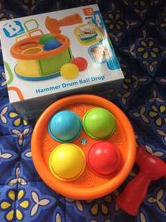 Hammer Drum Ball Drop