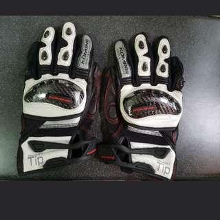 Original Komine leather riding glove (M)