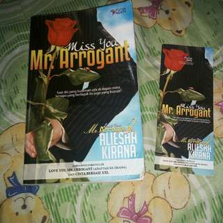 Novel - Miss you Mr. Arrogant