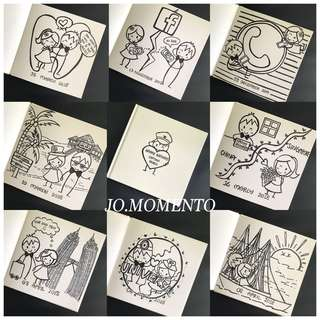 Customised Handmade Sketchbook