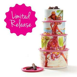 Miss Bella One Touch Canister Set