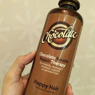 chocolate keratin repair therapy
