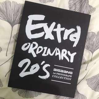 Bigbang extra ordinary 20's寫真書