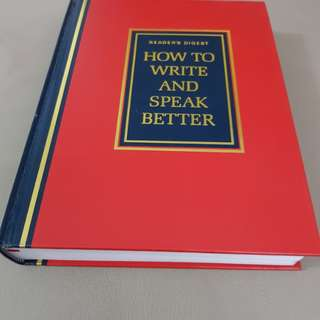 Book on write and speak better