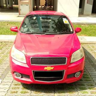 $1100 Monthly Car Rental Chevrolet Aveo 1.4cc