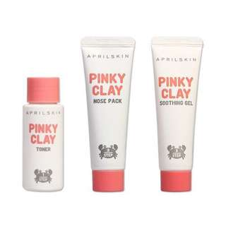 Pinky Clay Nose Pack