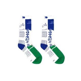 日系中筒襪