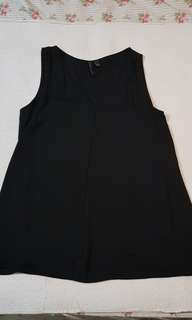 Authentic Mango Black Sleeveless