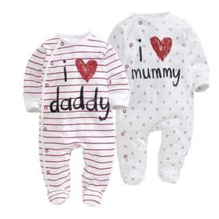 I Love Mummy And Daddy Jumpsuit