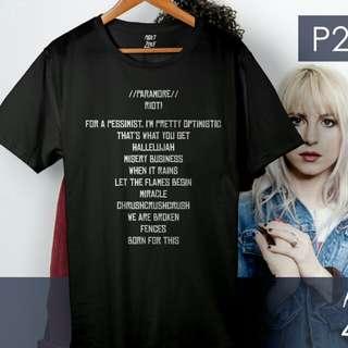 PARAMORE Shirt - Riot! Album