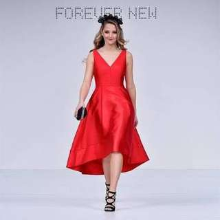 [FOREVER NEW] Lydia V-Neck Hi-Lo Prom Dress
