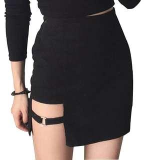 Skirt cutout