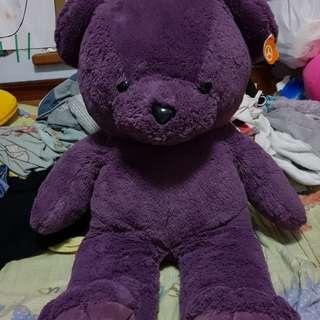 🔴私物🔴70幾公分巨型芋頭紫泰迪熊