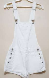 Cotton On Dungarees / Jumper (Medium, White)