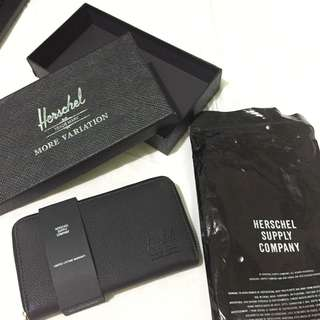 Authentic Overrun Herschel Long Wallet