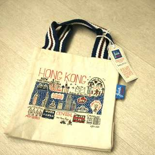 英國名設計師Julia Gash Tote Bag 手挽袋