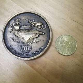 U.S. Navy - USS Ronald Reagan CVN-76 - USN Challenge Coin