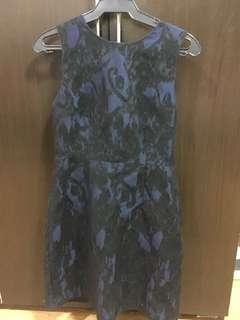 Navy blue corporate Dress (H&M)