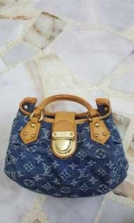 Authentic LV denim Bag
