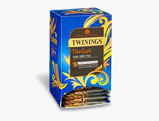 Twinings THE EARL - 20 PYRAMID BAGS (INDIVIDUALLY WRAPPED) 川寧伯爵茶20個茶包裝(獨立包裝)