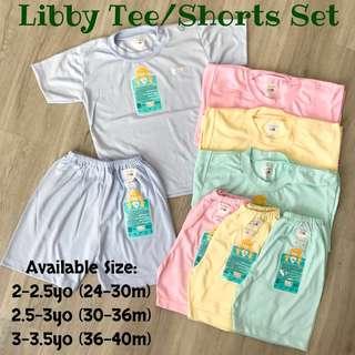 2 3 4 years yo Libby Short Sleeve Shorts Toddler