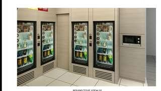 Retail concept, manless retailing