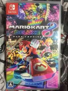 Switch 二手 日版 Mario kart