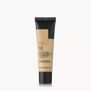 Onhand The body shop Matte clay skin clarifying Foundation