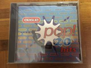 """Erasure """"Pop 20 Hits"""" - original CD"""