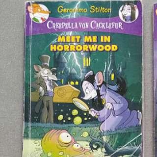 Geronimo Stilton - Creepella von Cacklefur