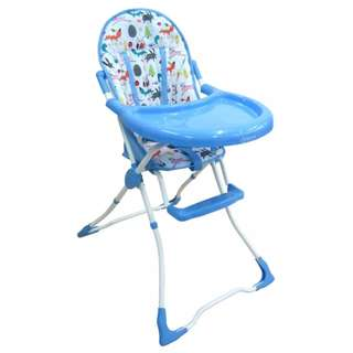 BABY BLUE HIGH CHAIR