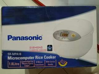 Panasonic Rice Cooker - SR-MPA18 Microprocessor Model