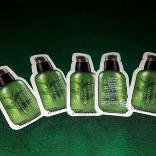 Sample Innisfree Green Tea Seed Serum