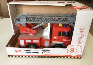 Fire engine (size in scale 1:20)