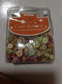 Buttons for Craft and Scrapbooking