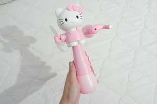 Hand Fan / Kipas Hello Kitty