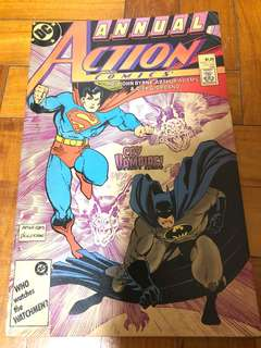 DC annual action comics #1 1987