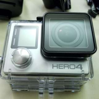 GoPro Hero 4 Black w/ Suction Mount & Accesories