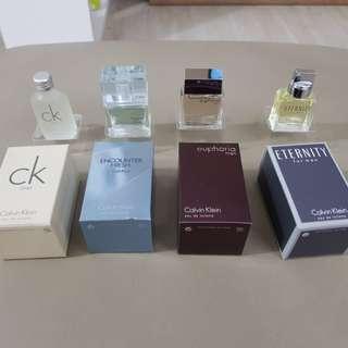 Calvin Klein mini EDT perfume