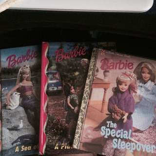 Assorted Barbie Books