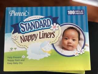 Puréen Nappy Liner x 2