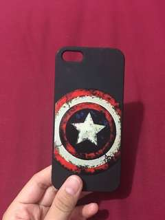 case ip 5s captain america