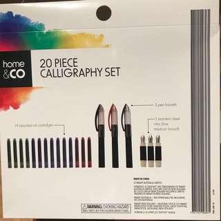20 piece Calligraphy Set