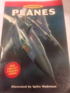 Investigate PLANES (illustrated by Spike Wademan)