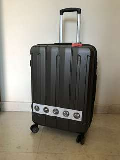 24' Luggage (Pierre Cardin) dark grey